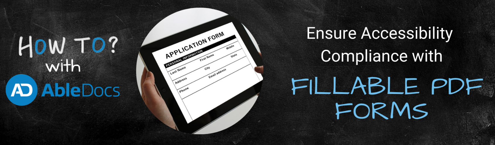 How to ensure accessibility compliance with fillable PDF forms