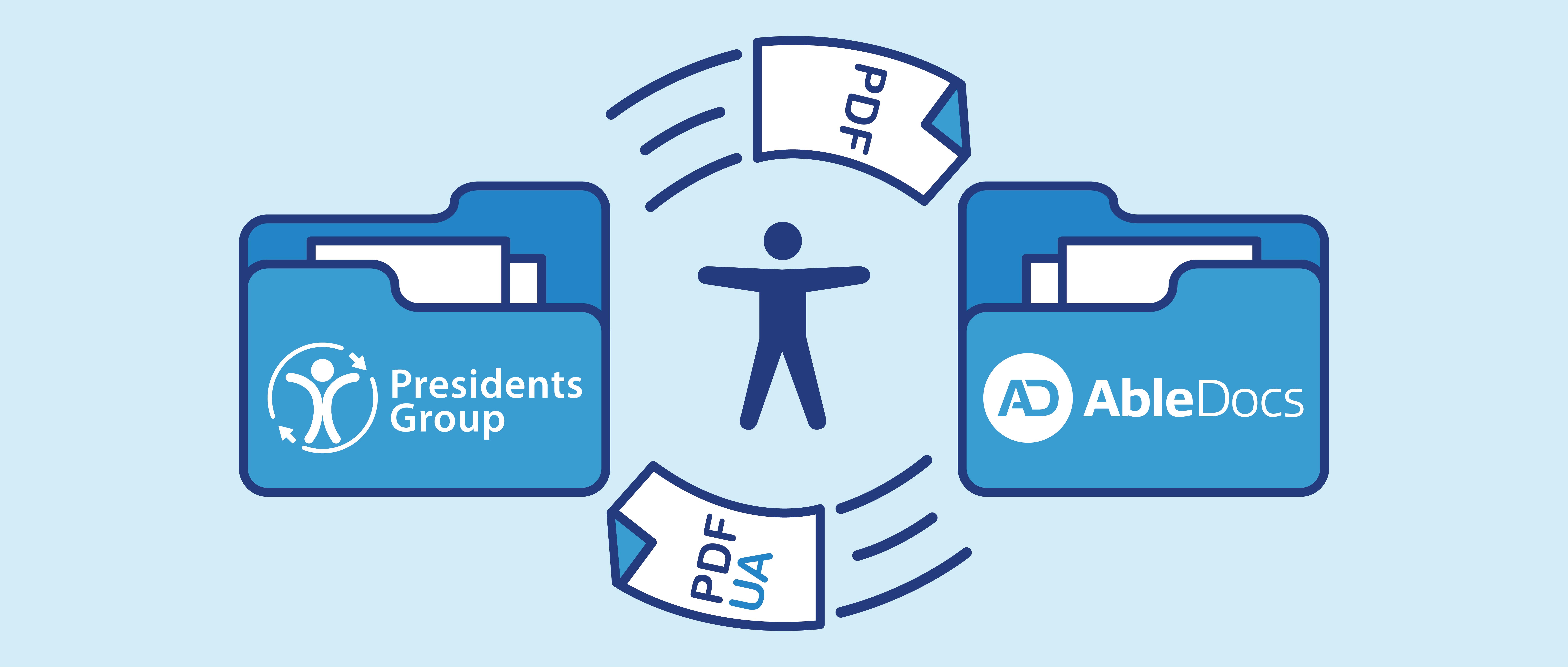 Presidents Group and AbleDocs working together to create accessible documents